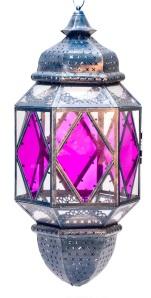 Fuchsia glass