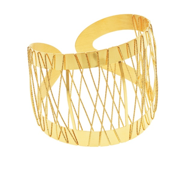 1509976_Gold-plated bronze bracelet