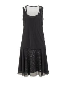 BLACK SEQUINS DRESS 1