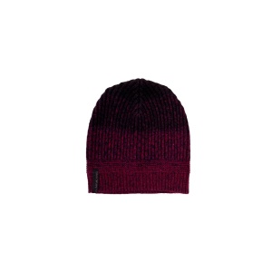 NAVY CHERRY MARL MOHAIR HAT 1