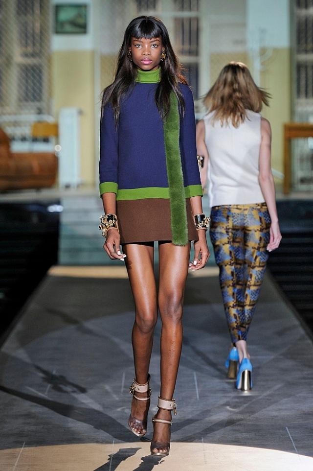 Dsquared2 Womenswear Fall Winter 2014 Milan Fashion Week February 2014