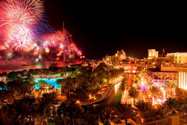 NYE MJ fireworks