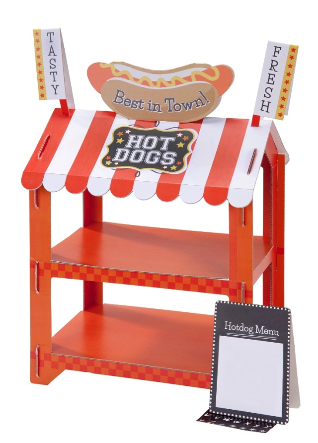 2 Tier Hot Dog Stand AED 99