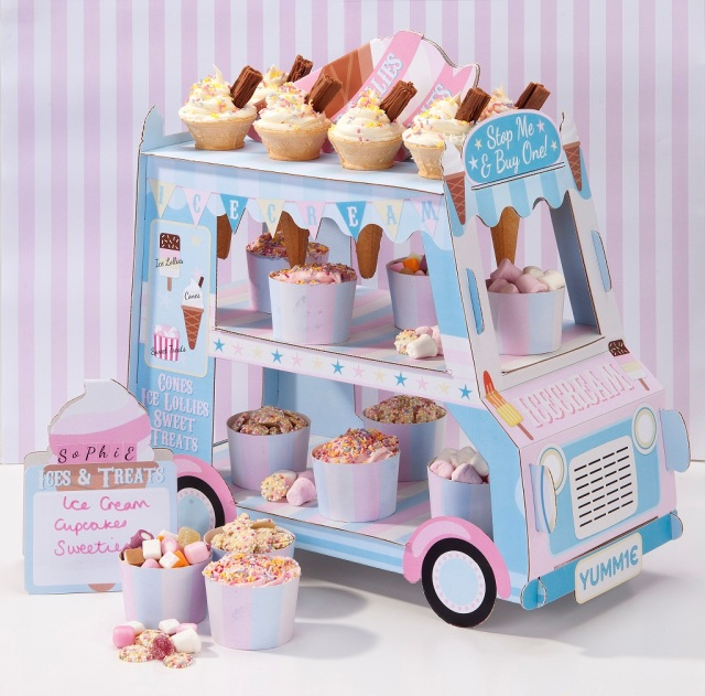 3 Tier Ice Cream Stand AED 99