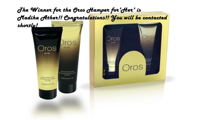 OROS for her winner pic