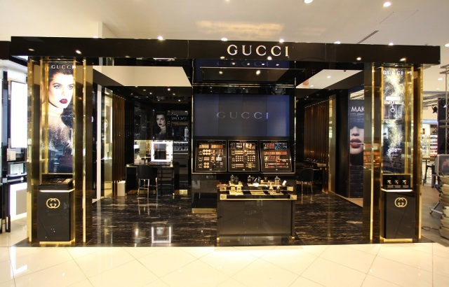 New Gucci Counter at Paris Gallery, Dubai Mall