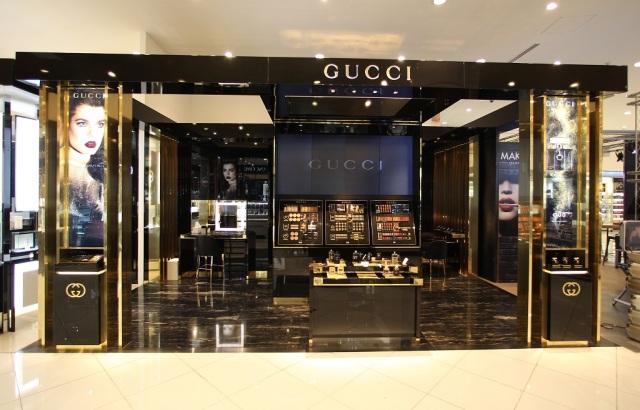 New Gucci Counter at Paris Gallery, Dubai Mall