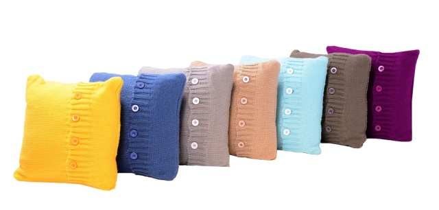 Cushions (colorful) AED 730 each comes with pillow and throw 2