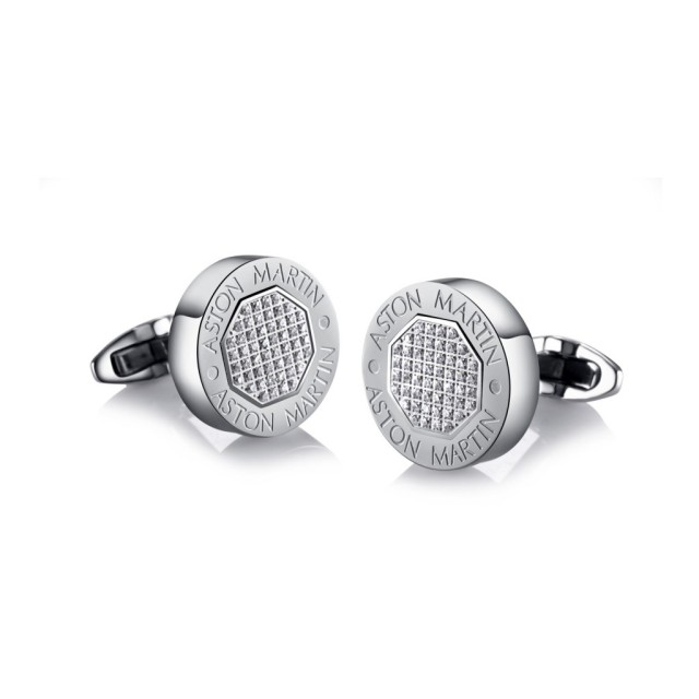 Aston Martin Cufflinks in Stainless Steel @ Paris Gallery - AED 795