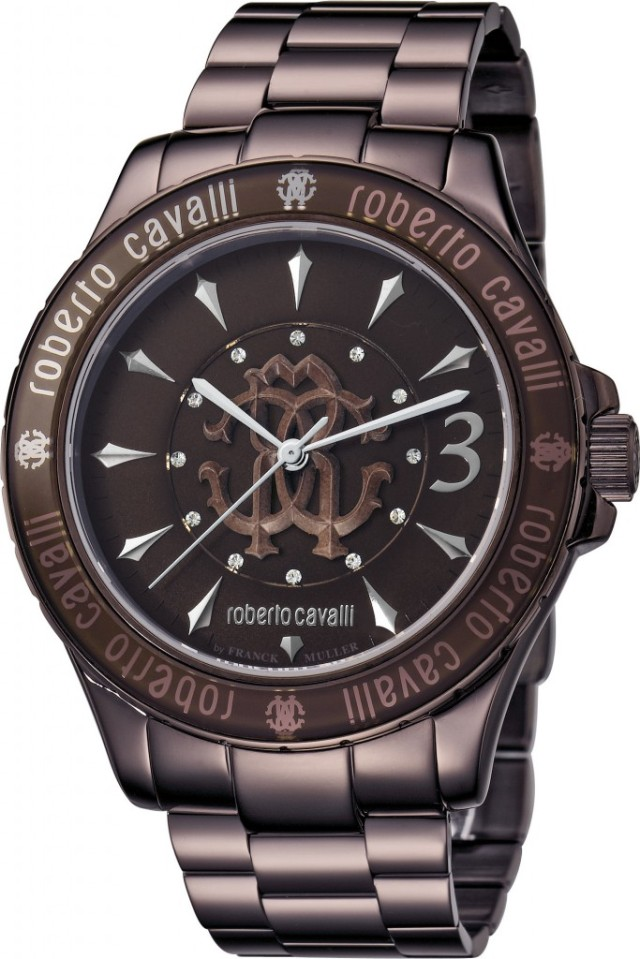 Roberto Cavalli by Franck Muller @ Paris Gallery - RV1L001M0051 - Dhs 4600